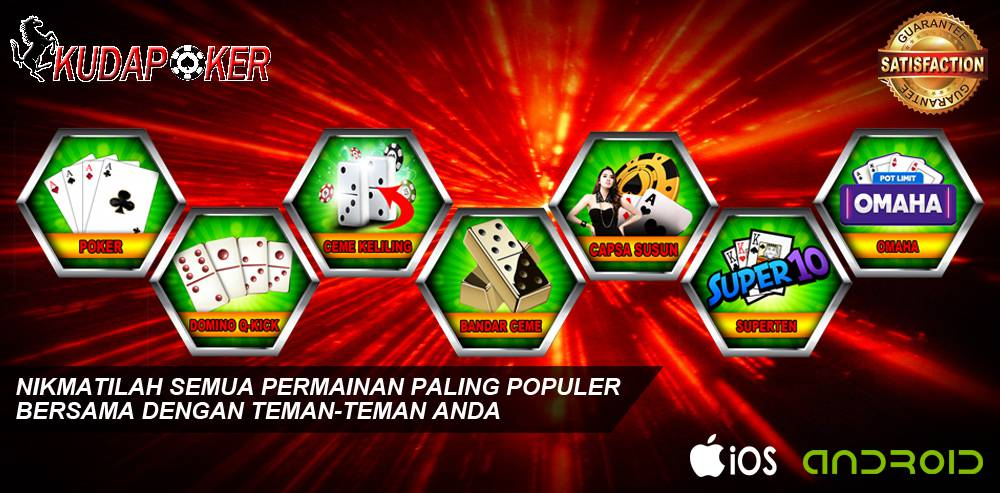 Mengenal Poker Online Dan Jenis Games Di KudaPoker