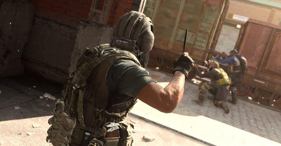 Call of Duty: Warzone Melempar Pisau Menambagkan Twist Yang Mengerikan Dalam Pertarungan