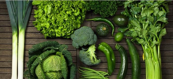Sayuran Hijau dengan manfaat untuk kesehatan tubuh.